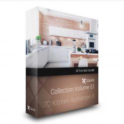 مدل سه بعدی وسایل آشپزخانه از CGAxis