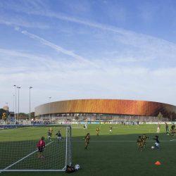 طراحی مجموعه ورزشی Sport campus Zuider park در هلند