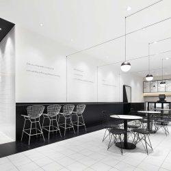 طراحی داخلی رستوران TDF – چین