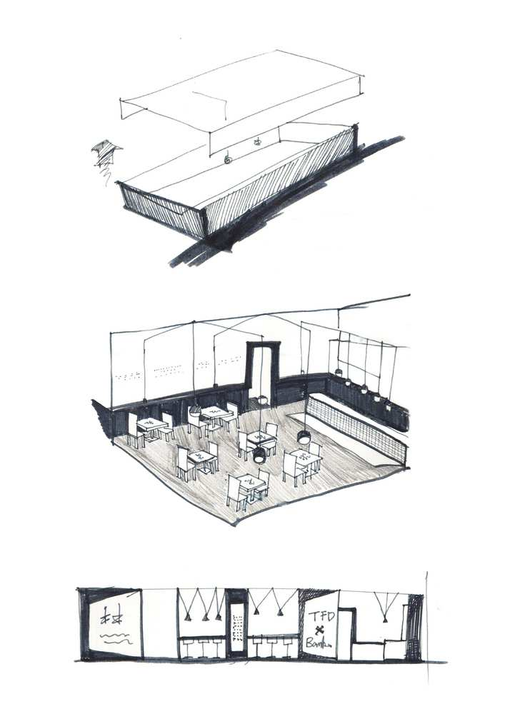 پلان رستوران TDF