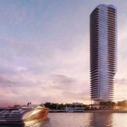 طرحی برج مسکونی مدرن در میامی