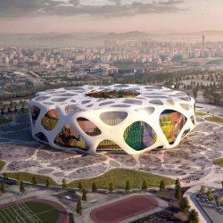 طراحی استادیوم فوتبال توسط گروه معماری AFL