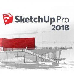 دانلود SketchUp Pro 2018 به همراه پلاگین vray