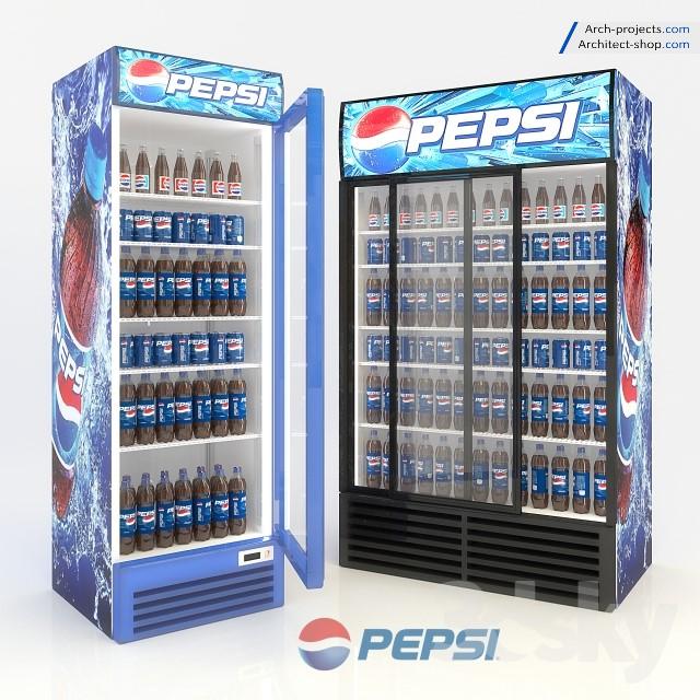 آبجکت یخچال فروشگاهی