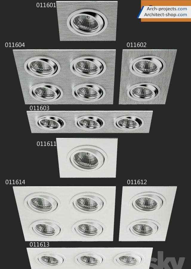 مدل سه بعدی لامپ هالوژن