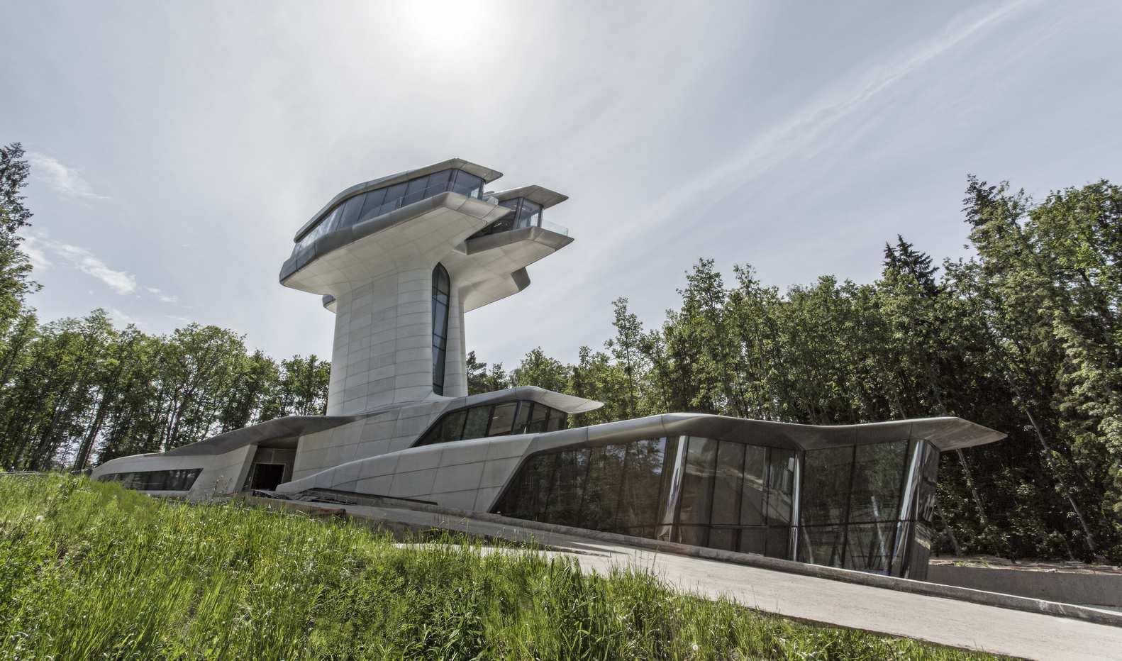 طراحی خانه لوکس زاها حدید