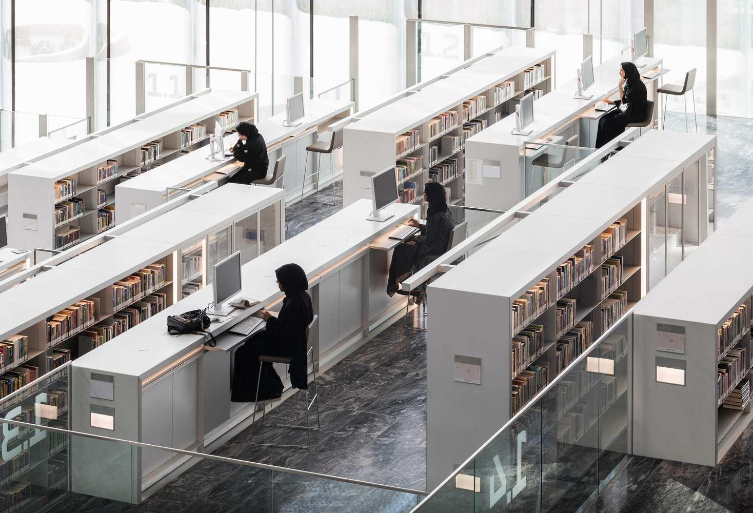 معماری کتابخانه