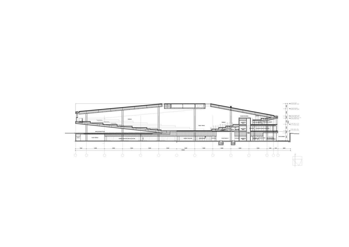 پلان کتابخانه ملی قطر