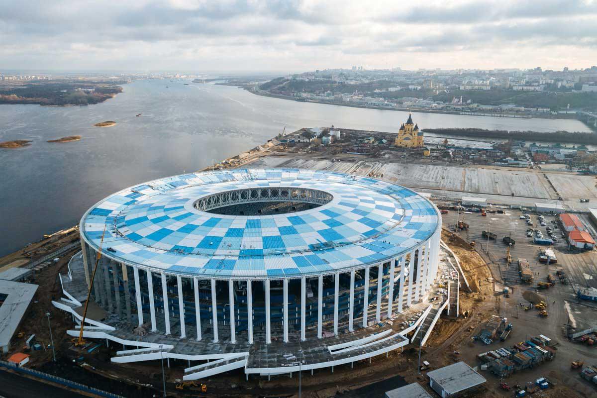 ورزشگاه های جام جهانی روسیه