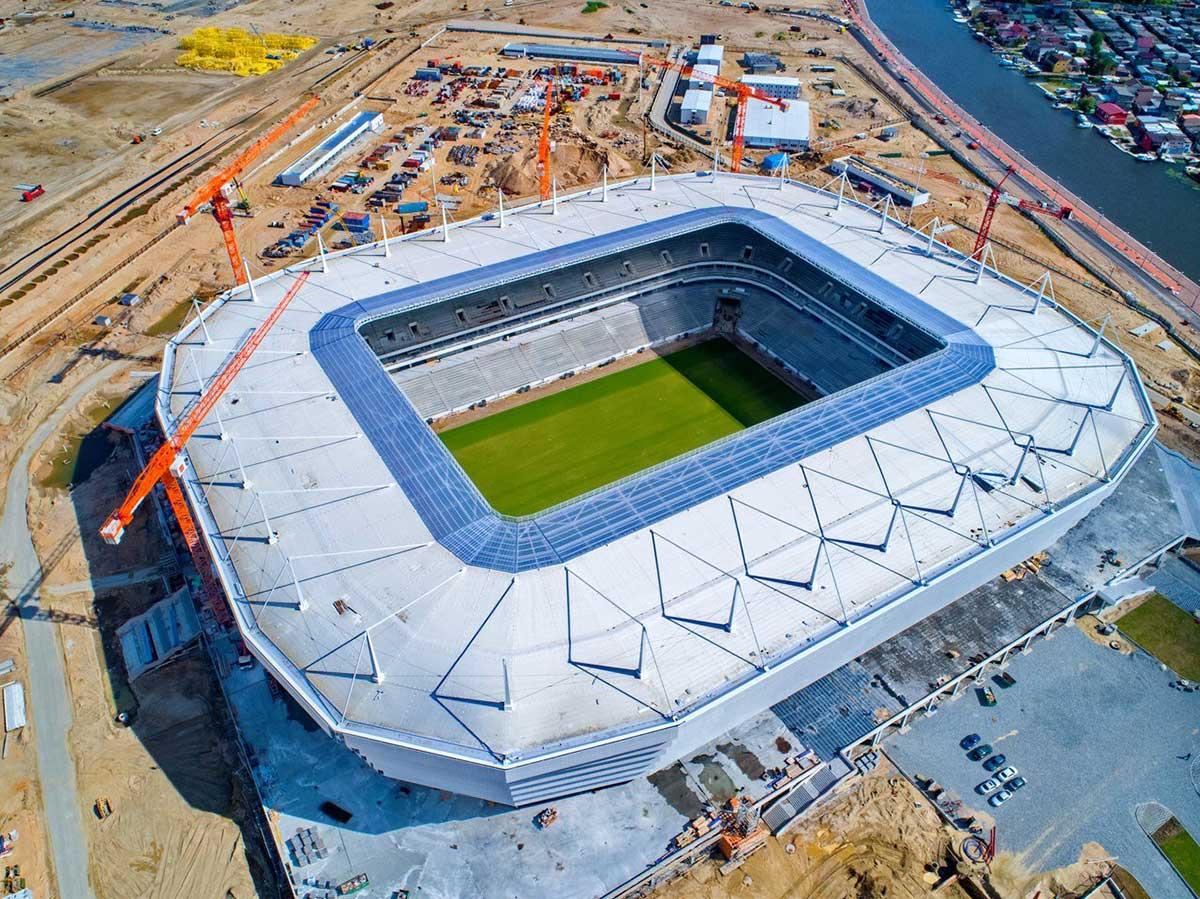 معرفی ورزشگاه های میزبان جام جهانی روسیه 2018