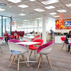 طراحی دفتر کار با فضای کار گروهی