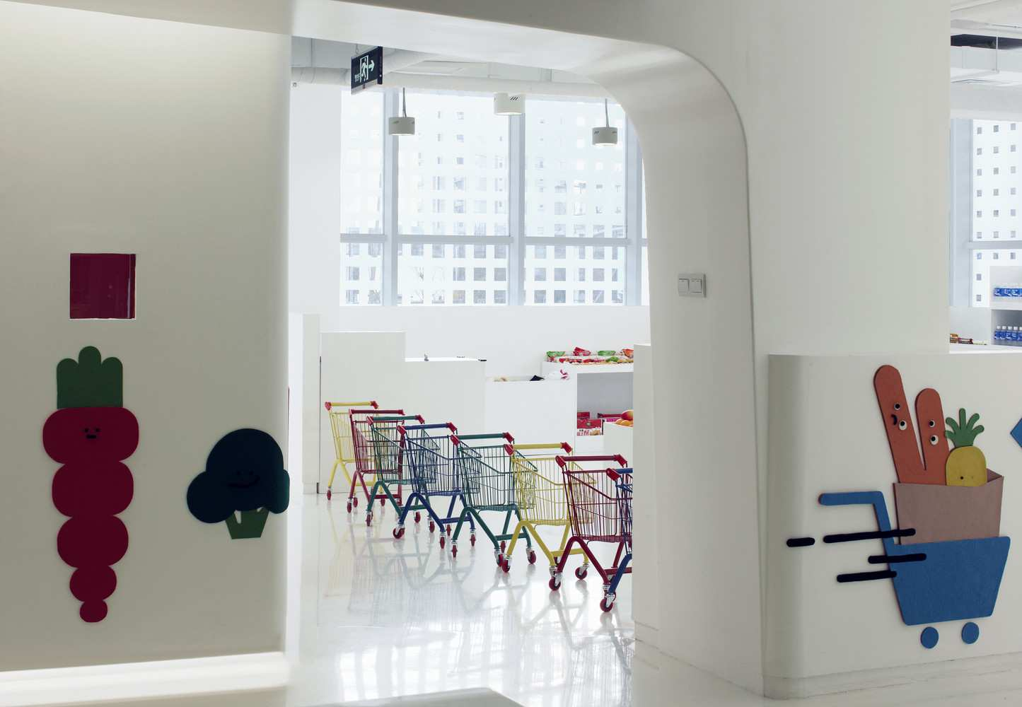 طراحی داخلی مهد کودک