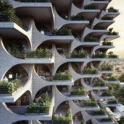 طراحی برج مسکونی در تل آویو