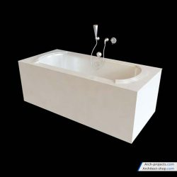 دانلود مدل سه بعدی وسایل حمام