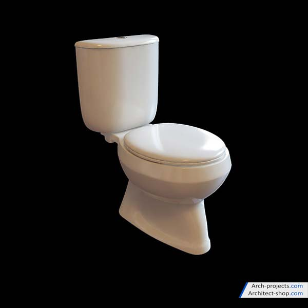آبجکت توالت فرنگی