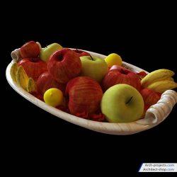 دانلود آبجکت مواد غذایی