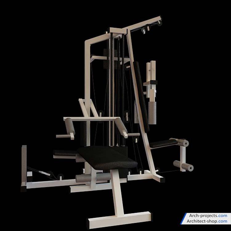 دانلود مدل سه بعدی وسایل ورزشی
