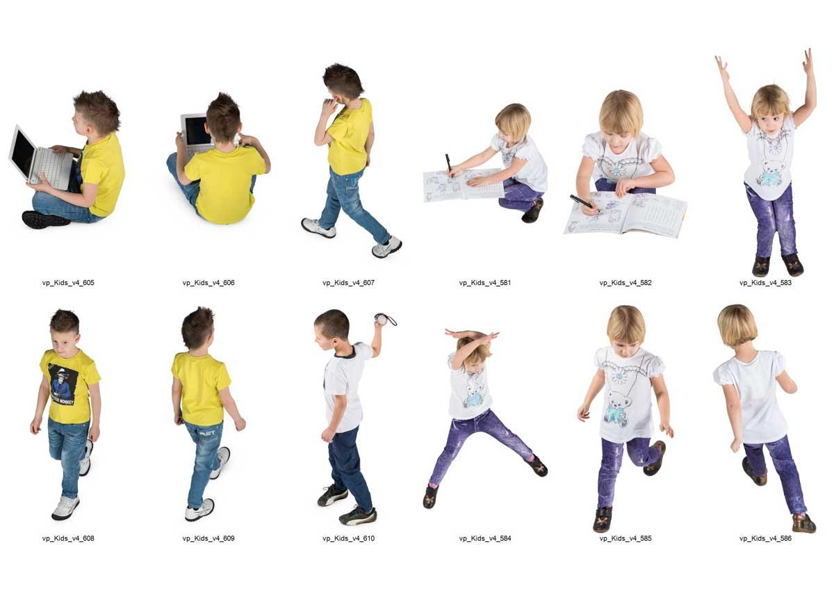 عکس لایه باز کودک