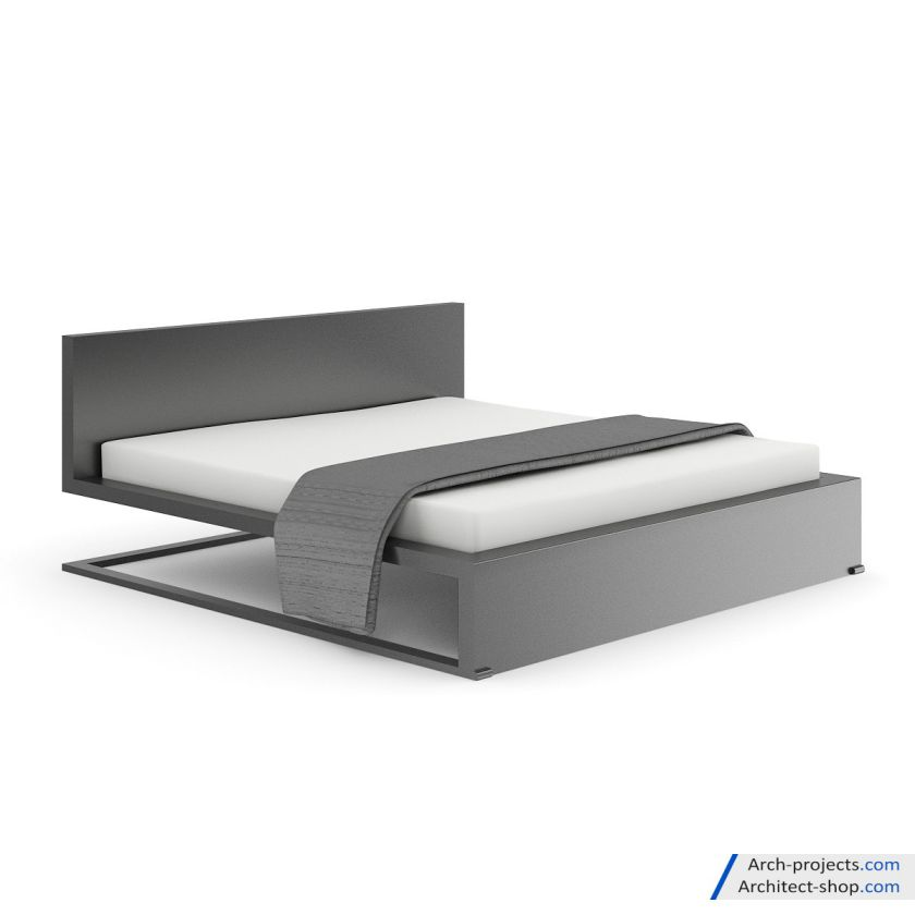 مدل سه بعدی تخت خواب