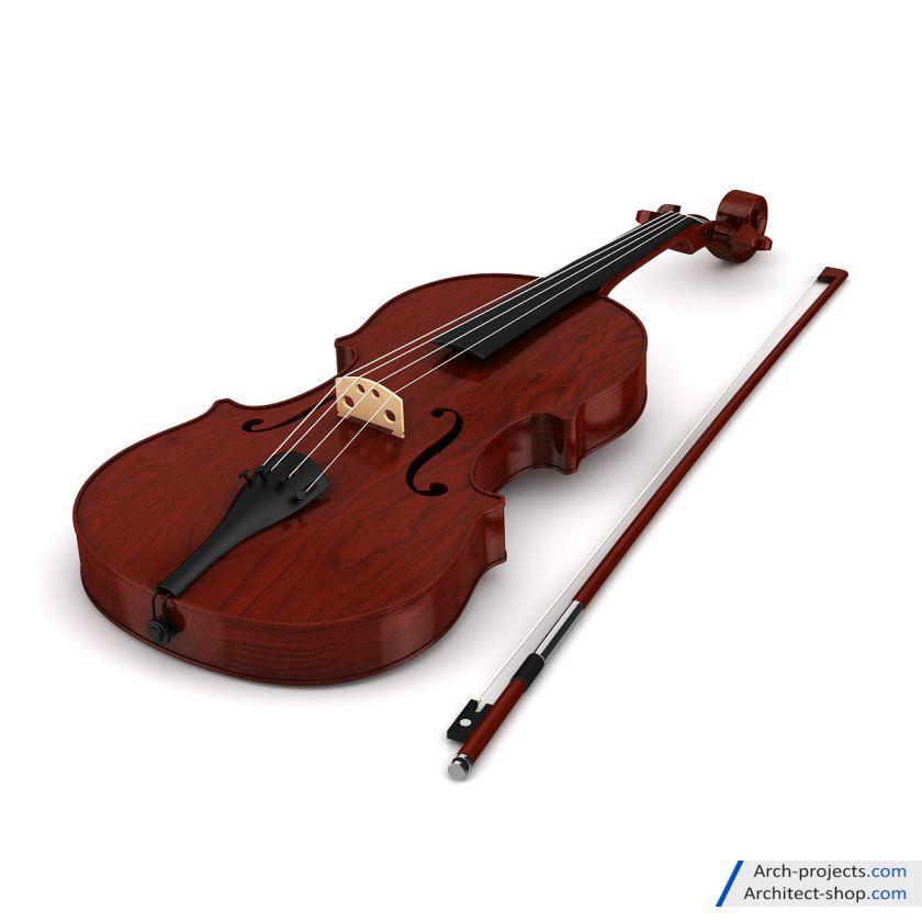 مدل سه بعدی آلات موسیقی