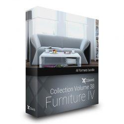 دانلود مدل سه بعدی میز و صندلی