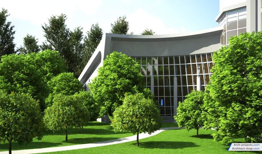 مجموعه آبجکت درخت