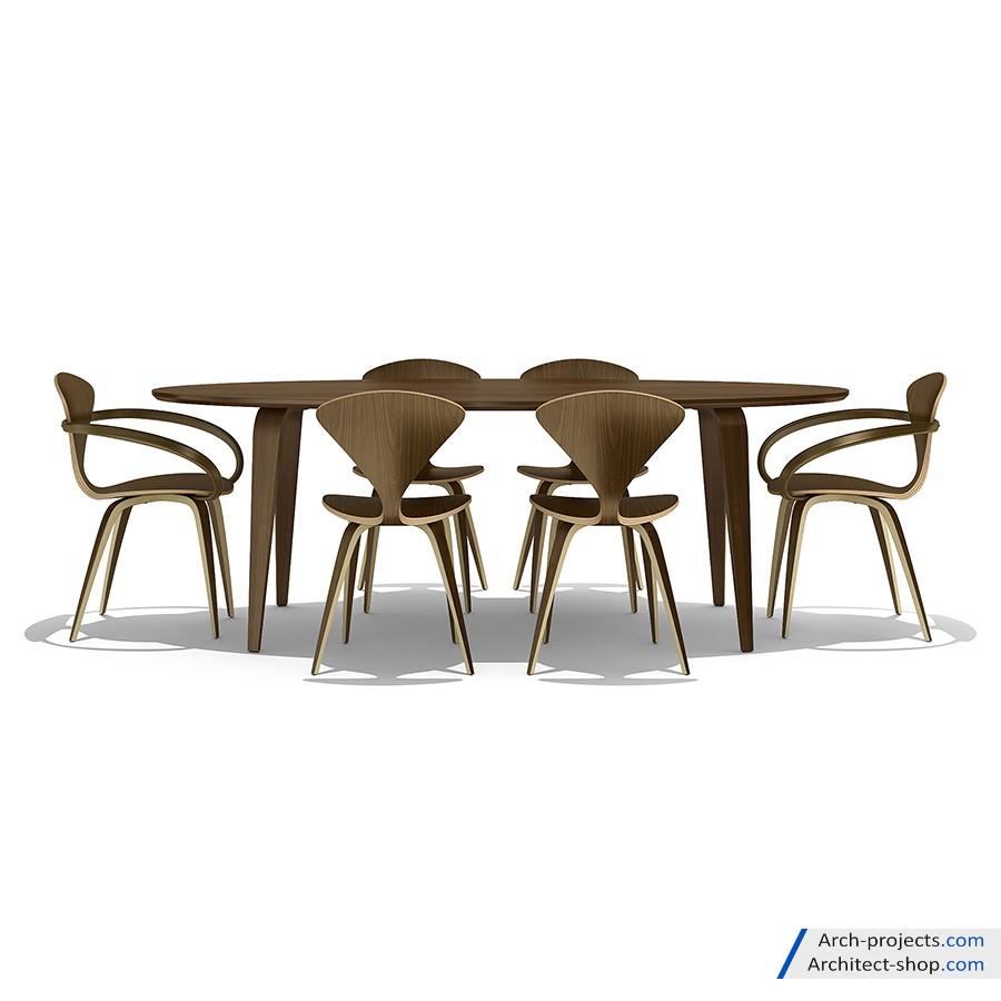 دانلود مجموعه آبجکت میز و صندلی