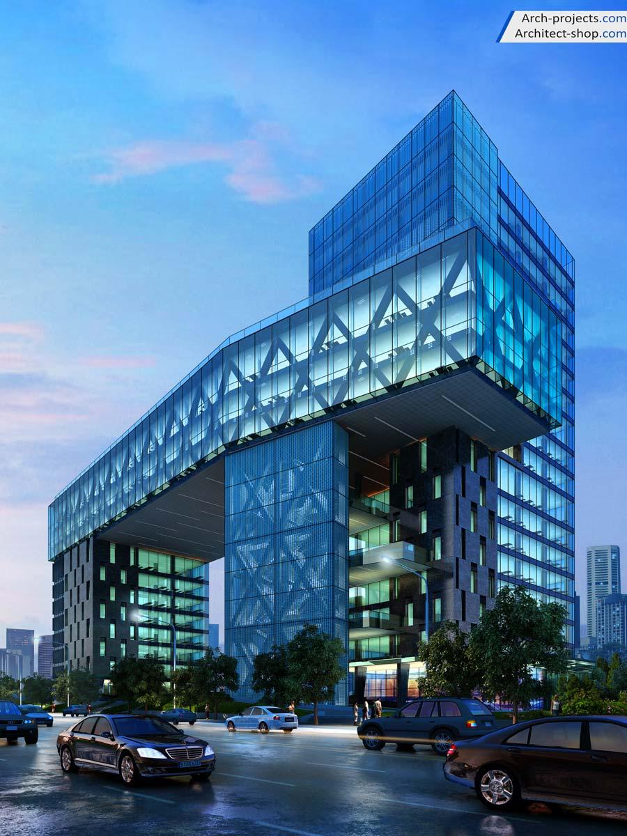 دانلود مدل سه بعدی ساختمان
