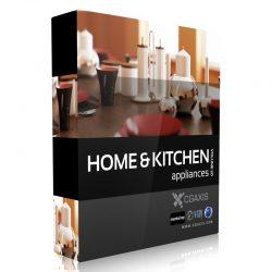 دانلود مجموعه مدل سه بعدی لوازم آشپزخانه