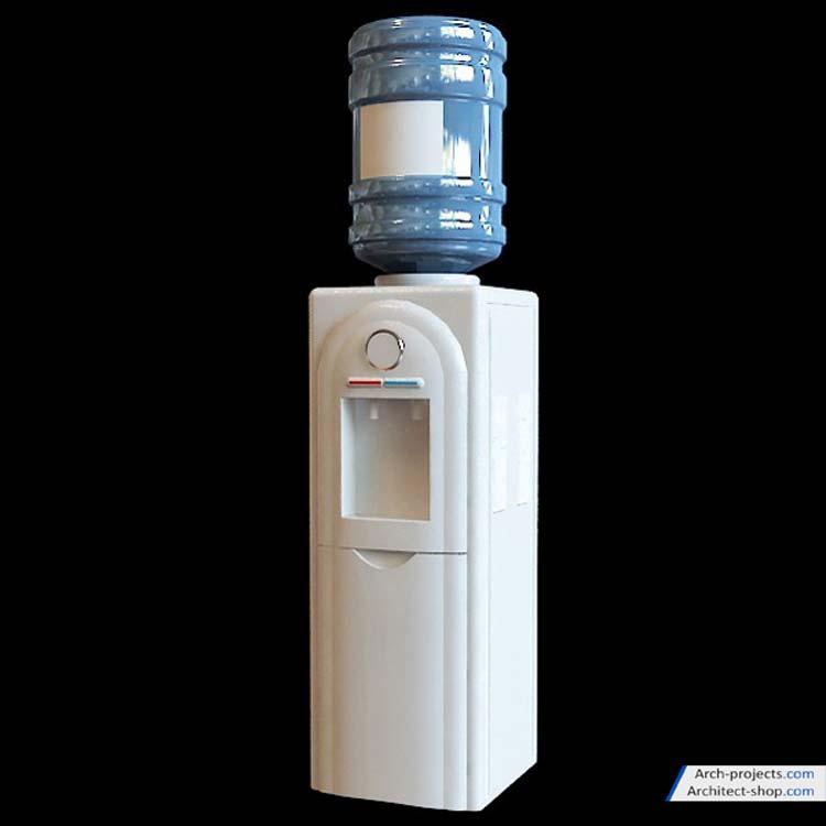مدل سه بعدی آب سرد کن