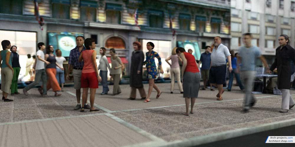 آبجکت انسان انیمیت شده