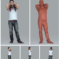 دانلود مدل سه بعدی پرسوناژ انسان