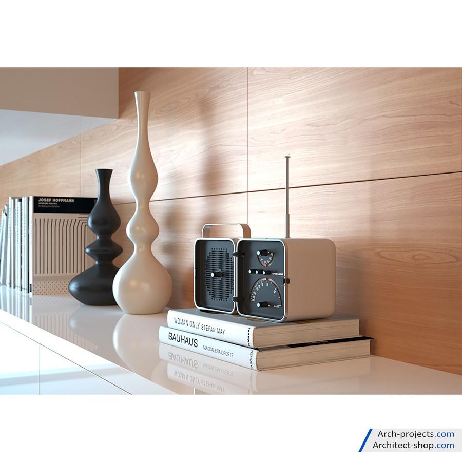 مدل سه بعدی لوازم دکوری خانه