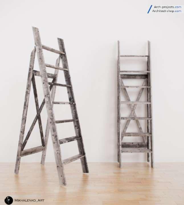 دانلود آبجکت نردبان