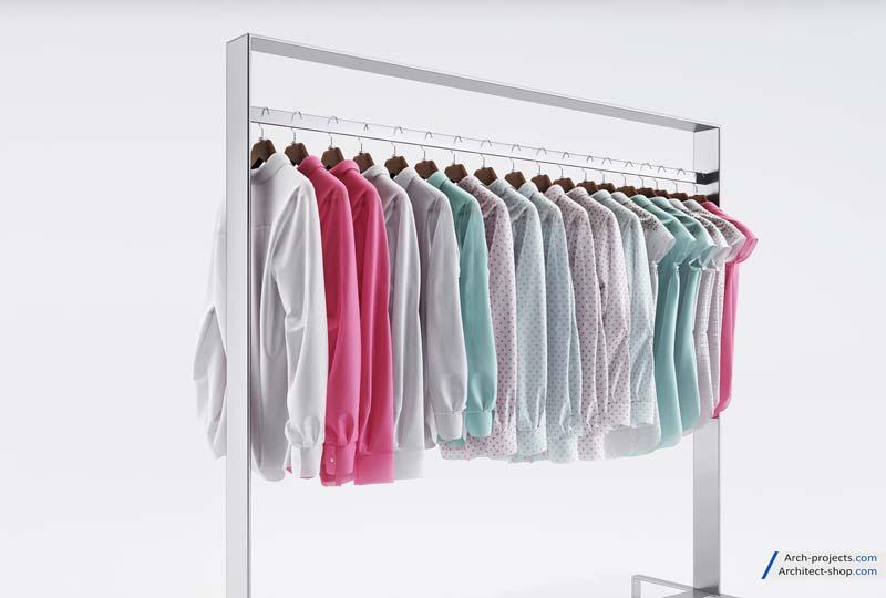 مدل سه بعدی لباس