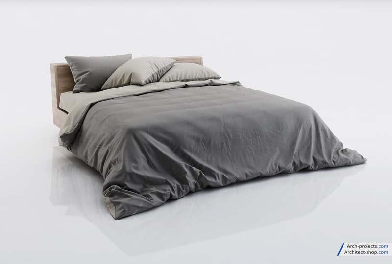 آبجکت تخت خواب