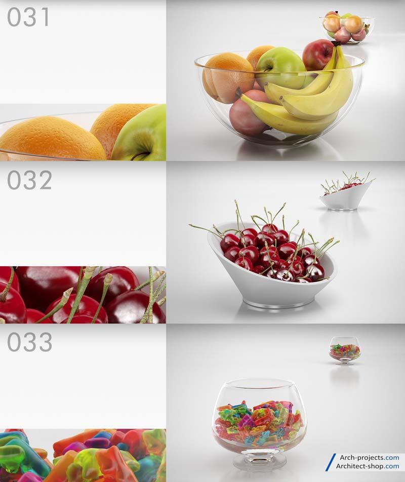 دانلود مدل سه بعدی میوه