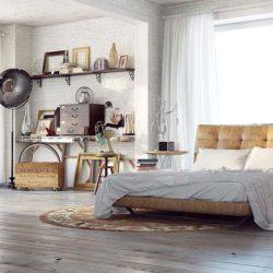 دانلود مدل سه بعدی اتاق خواب با جزئیات بالا