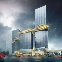 طراحی برج های ترکیبی در چین