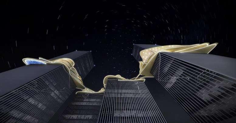 طراحی برج های ترکیبی