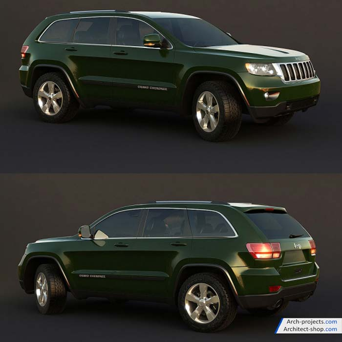 مدل سه بعدی اتومبیل