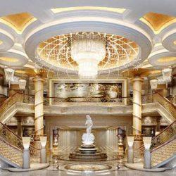 دانلود مدل سه بعدی صحنه داخلی کلاسیک