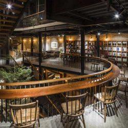 طراحی کافه رستوران در فضای باز