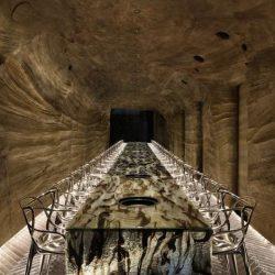 طراحی رستوران در غار و طبیعت