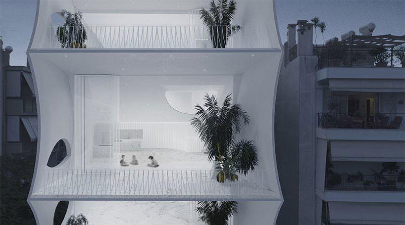 طراحی برج مسکونی سبک وزن