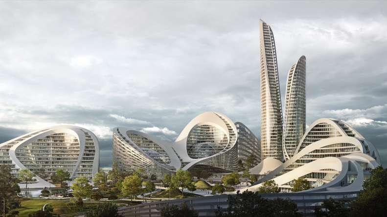 طراحی شهر هوشمند مسکو