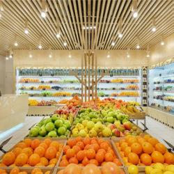 طراحی مغازه میوه فروشی