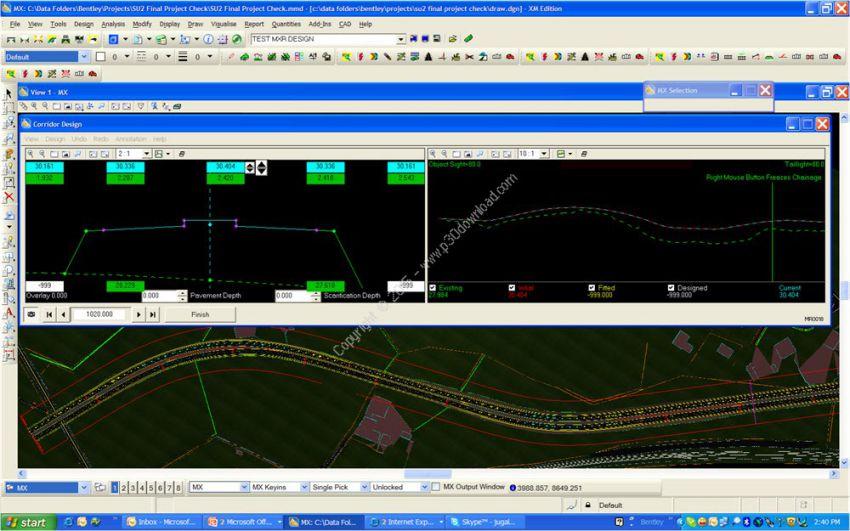 دانلود نرم افزارآنالیز و طراحی جاده