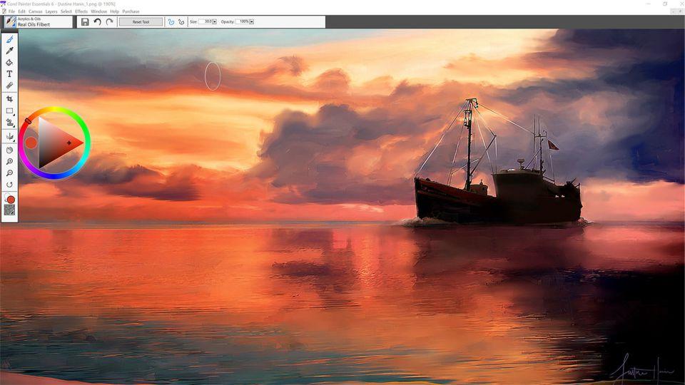 نرم افزار ایجاد نقاشی از عکس