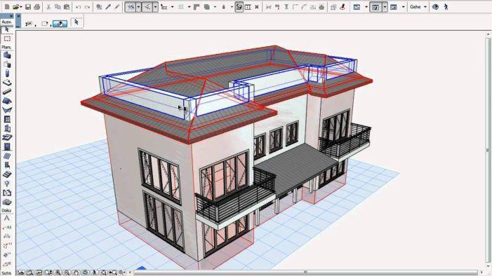 نرم افزار طراحی سه بعدی ساختمان